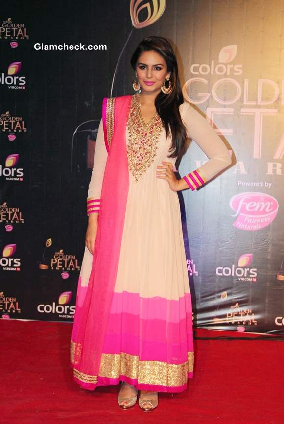 Huma Qureshi at Colors TV 3rd Golden Petal Awards