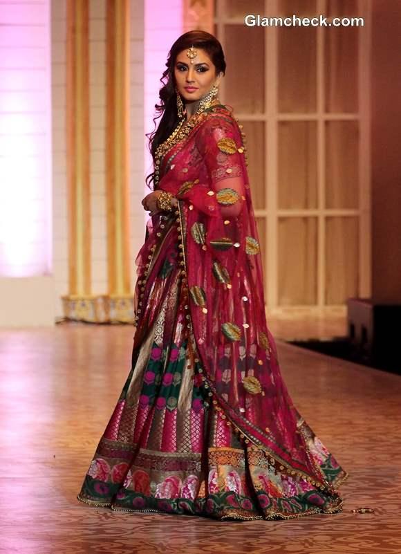 Huma Qureshi at India Bridal Fashion Week 2013 Mumbai  for Ashima Leena