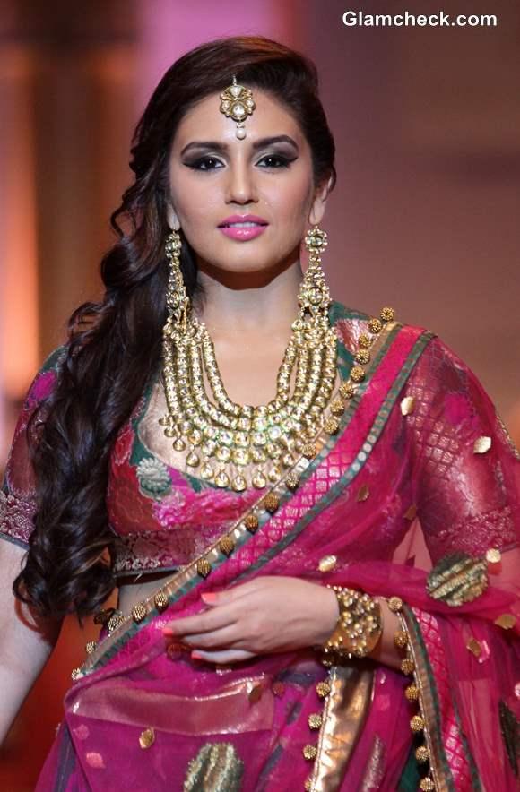 Huma Qureshi for Ashima Leena Show IBFW 2013 Mumbai