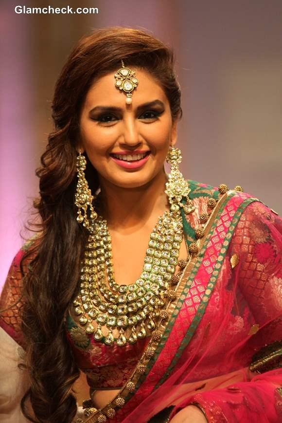IBFW 2013 Mumbai Huma Qureshi for Ashima Leena