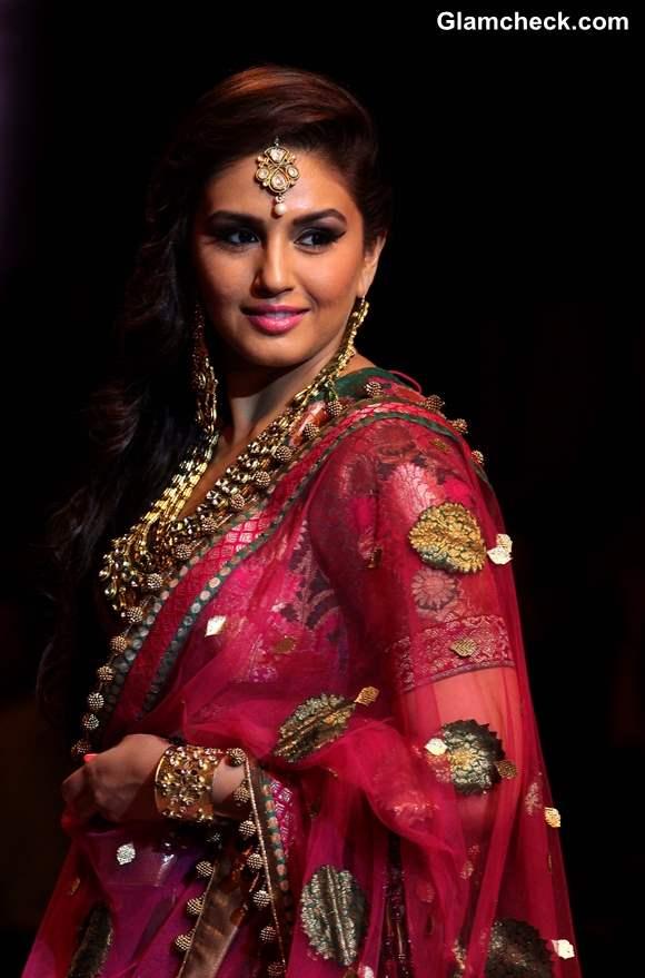 India Bridal Fashion Week 2013 Huma Qureshi