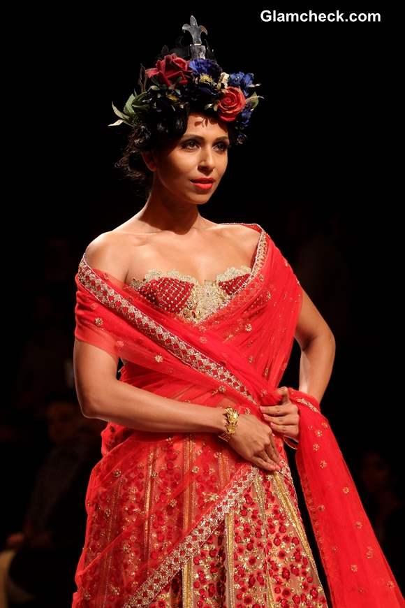 India Bridal Fashion Week 2013 Mumbai  Falguni and Shane Peacock Collection