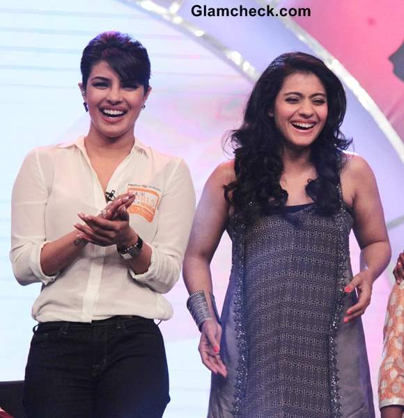 Kajol and Priyanka Chopra Host NDTV Our Girl Our Pride Fund-raiser