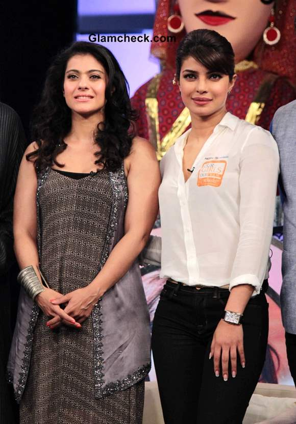 Kajol and Priyanka Chopra Host NDTVs Our Girl Our Pride Fund-raiser