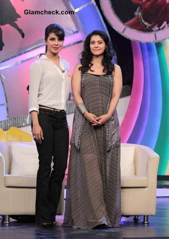 Kajol and Priyanka Chopra at NDTVs Our Girl Our Pride Fund-raiser