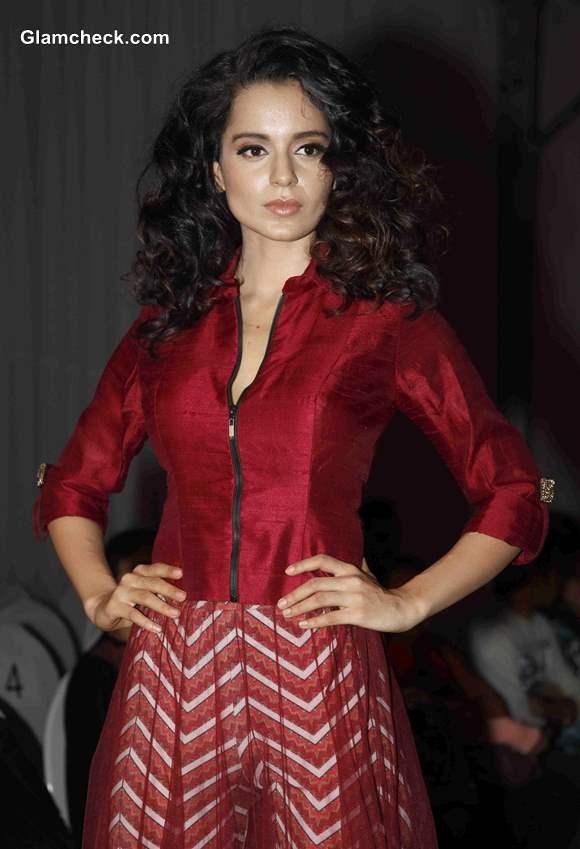 Kangana Ranaut at India Resort Fashion Week 2013