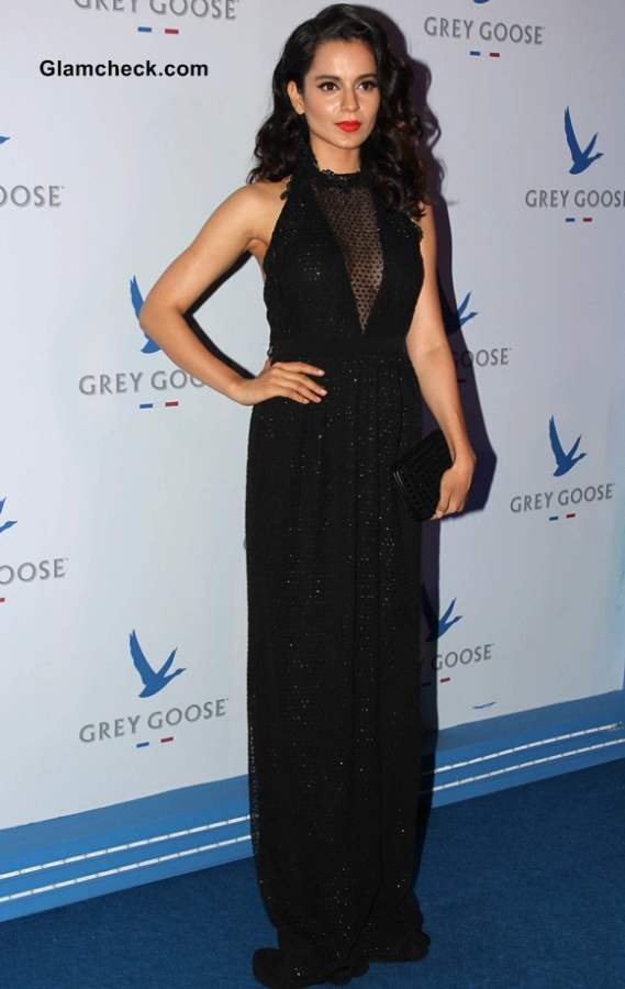 Kangana Ranaut in Gucci Gown at The second edition of the Grey Goose Style Du Jour