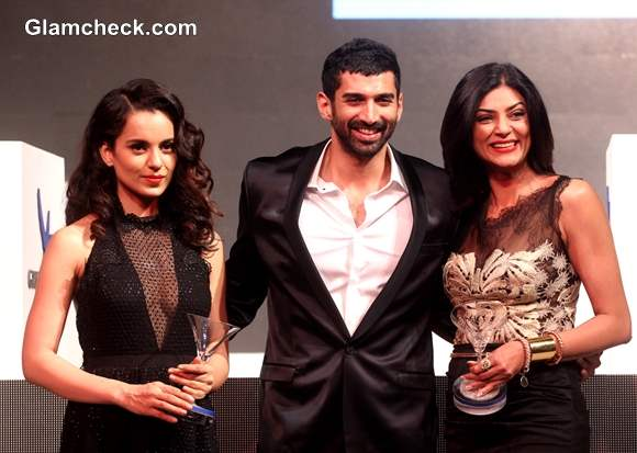 Kangana Ranaut and  Sushmita Sen at The second edition of the Grey Goose Style Du Jour