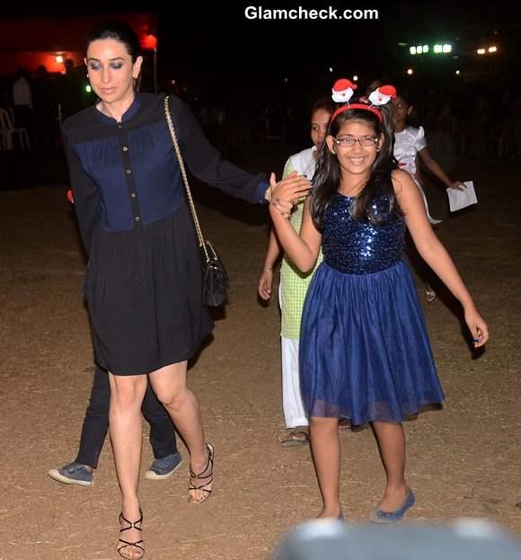 Karishma Kapoor with her daughter Samiera Kapoor