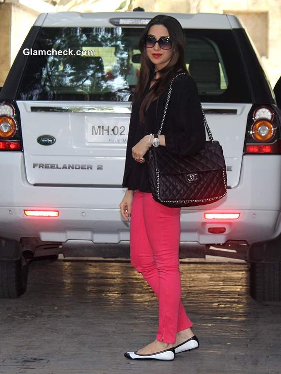 Karisma Kapoor at Annual Christmas Lunch 2013