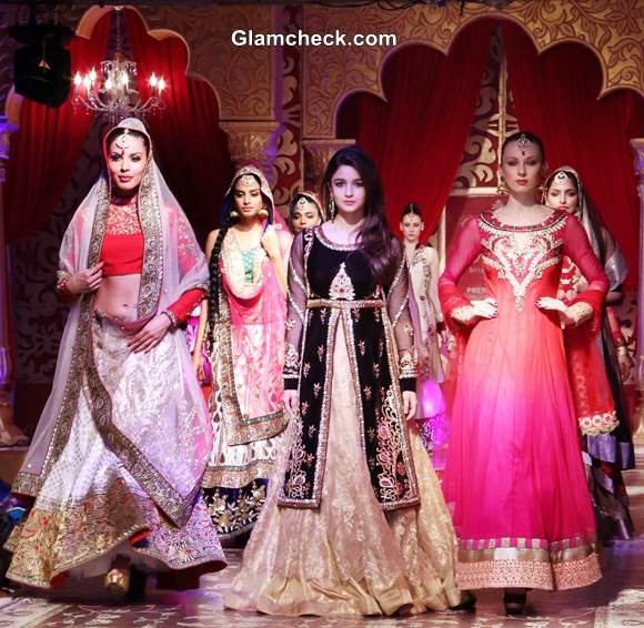 Khwaab Bridal Couture 2013 Alia Bhatt