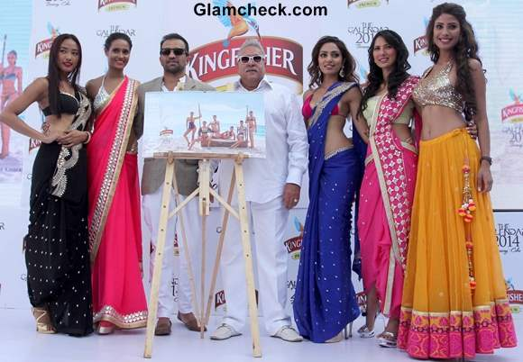 Kingfisher Calendar 2014 Launch