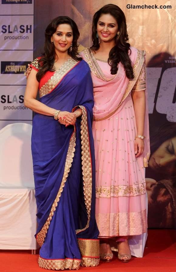 Madhuri Dixit and Huma Qureshi Dedh Ishqiya Movie