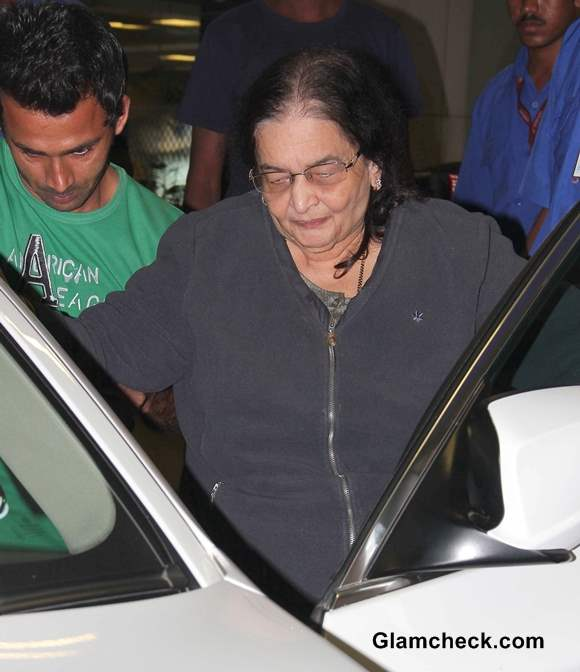Madhuri Dixits mother-in-law