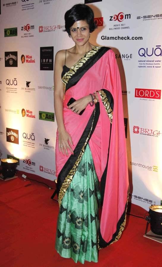 Mandira Bedi at India Resortwear Fashion Week 2013 - Day 1