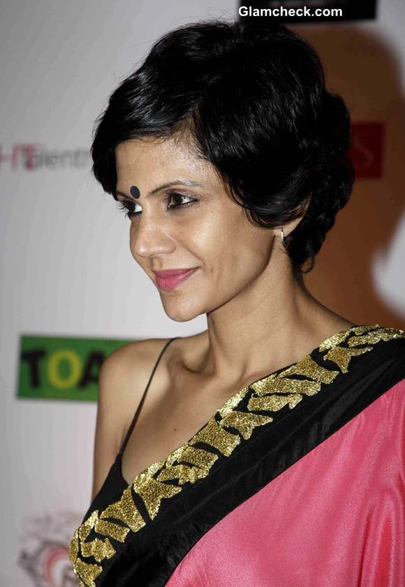 Mandira Bedi at India Resortwear Fashion Week 2013
