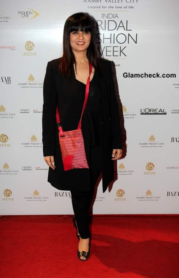 Neeta Lulla at India Bridal Fashion Week 2013 Day 6
