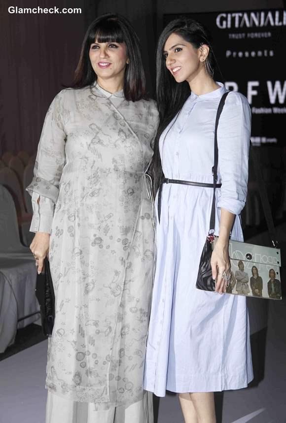 Neeta Lulla with her daughter Nishka Lulla