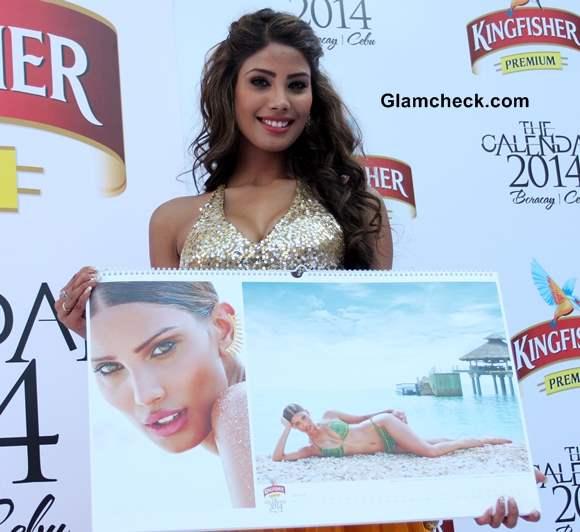 Nicole Faria Kingfisher Calendar 2014