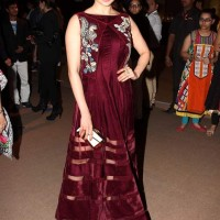 Prachi Desai at India Bridal Fashion Week 2013 Day 6