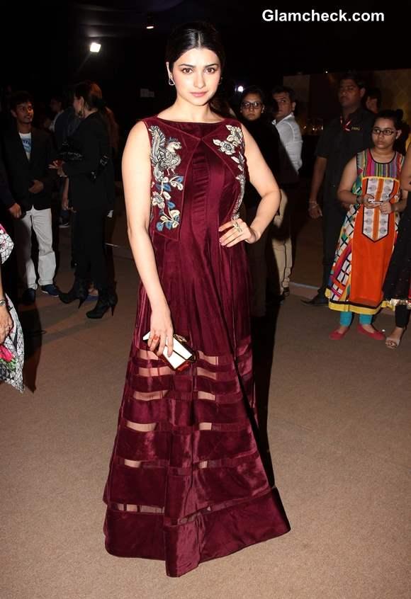 Prachi Desai at India Bridal Fashion Week 2013 Day 6