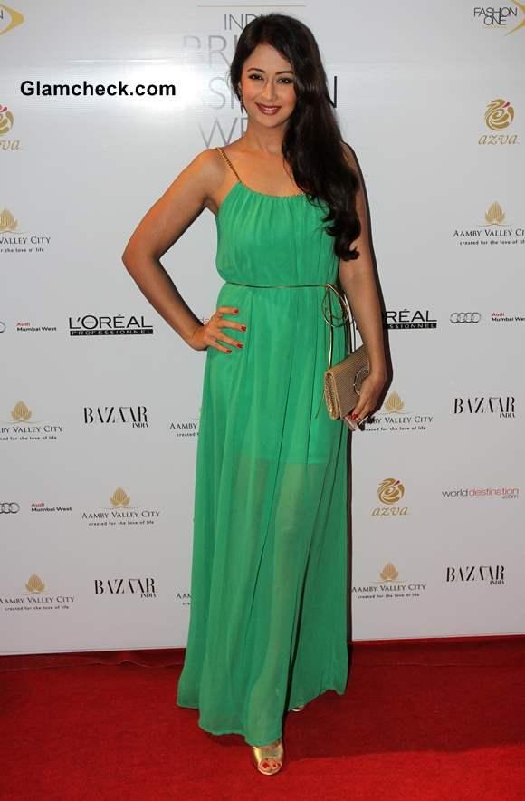 Preeti Jhangiani at India Bridal Fashion Week 2013 Day 6