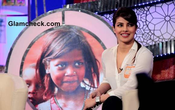 Priyanka Chopra for NDTVs Our Girl Our Pride Fund-raiser