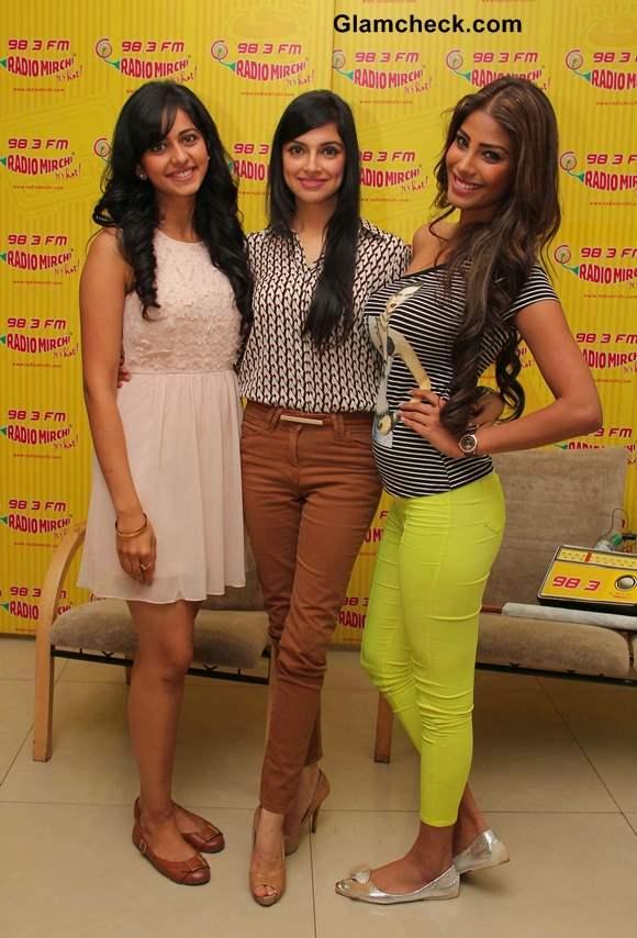 Rakul Preet Nicole Faria and Divya Khosla Promote Yaariyan