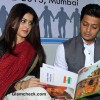 Riteish Deshmukh and Genelia DSouza at NSUI Launch