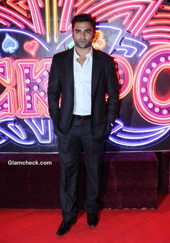 Sachin Joshi at Jackpot Premiere