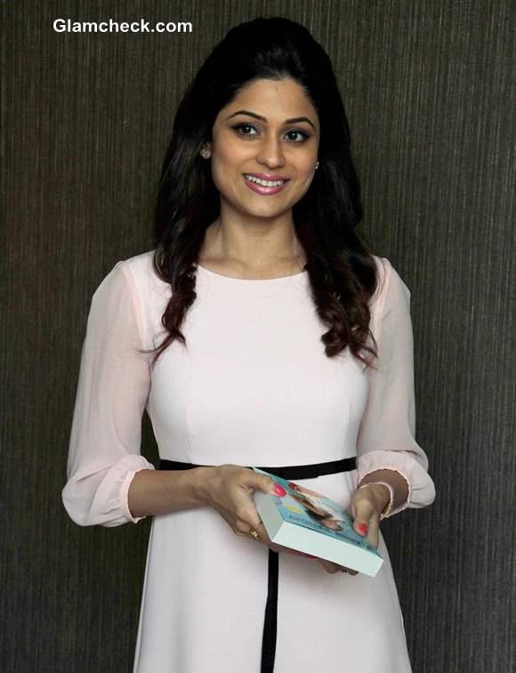 Shamita Shetty in White Dress 2013