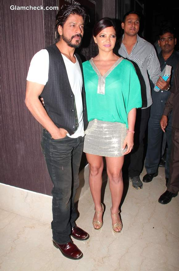 Sharukh Khan New Look at Deanne Panday Shut Up and Train Book Launch