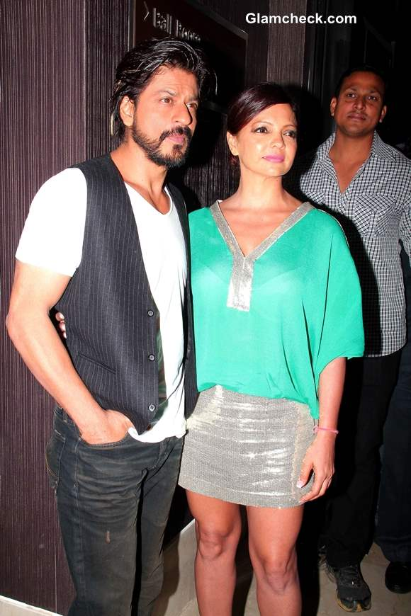 Sharukh Khan at Deanne Panday Shut Up and Train Book Launch