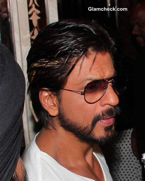 Sharukh Khan in beard