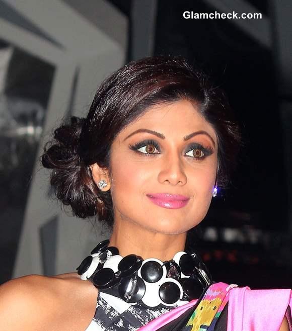 Shilpa Shetty Hairstyle 2013 Nach Baliye 6