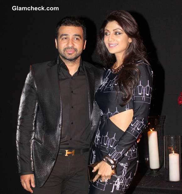 Shilpa Shetty along with her husband Raj Kundra