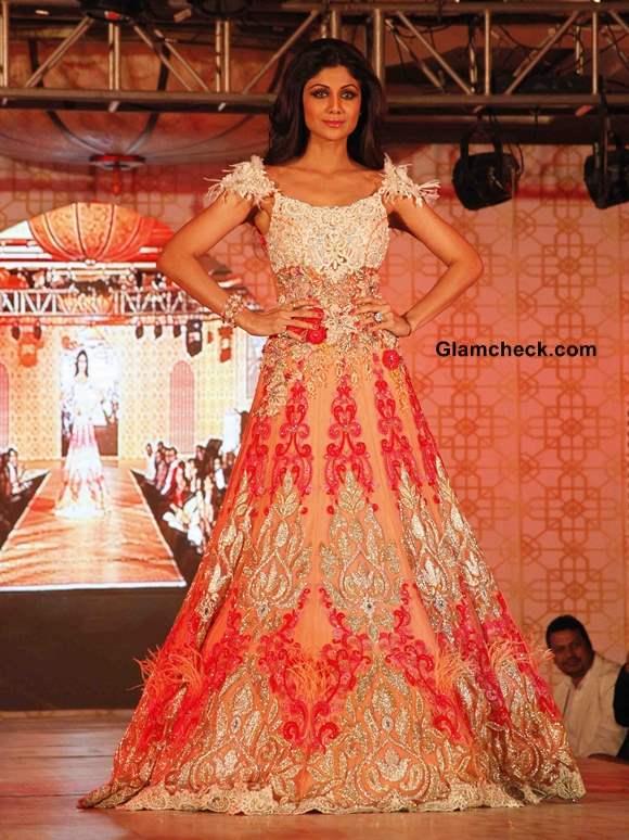 Shilpa Shetty for Rohit Verma at Marigold Watches Fashion Show