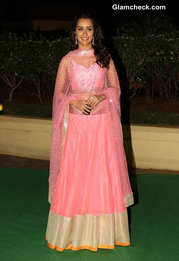 Shraddha Kapoor 2013 in Pink Anarkali