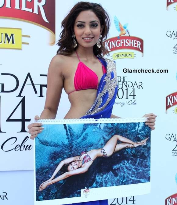Sobhita Dhulipala Kingfisher Calendar 2014