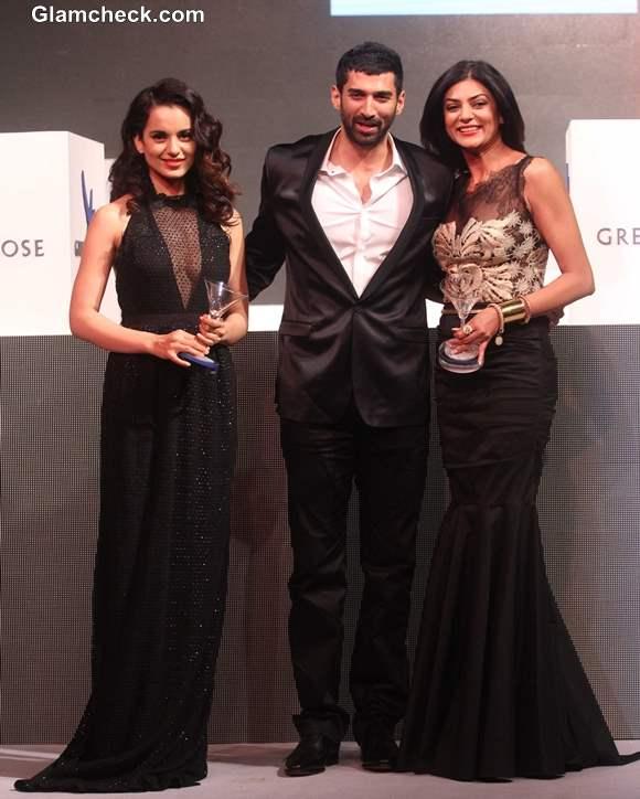 Sushmita Sen Kangana Rnaut at The second edition of the Grey Goose Style Du Jour
