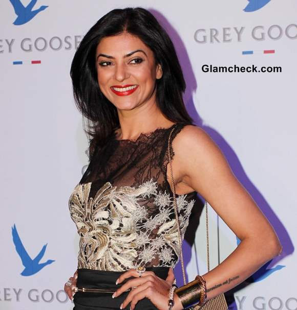 Sushmita Sen at The second edition of the Grey Goose Style Du Jour