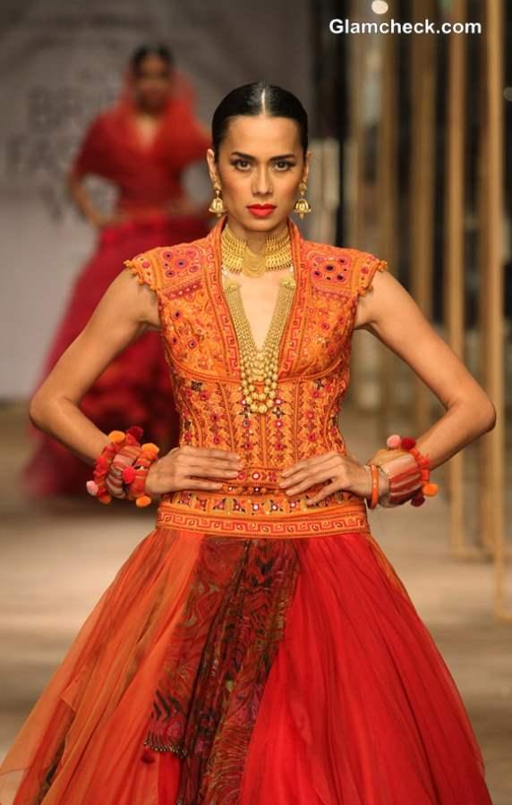 Tarun Tahiliani Bridal Collection 2013 IBFW