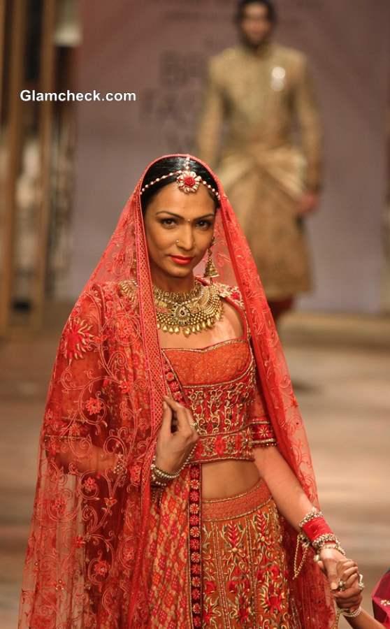 Tarun Tahiliani Traditional Bridal Wear IBFW 2013