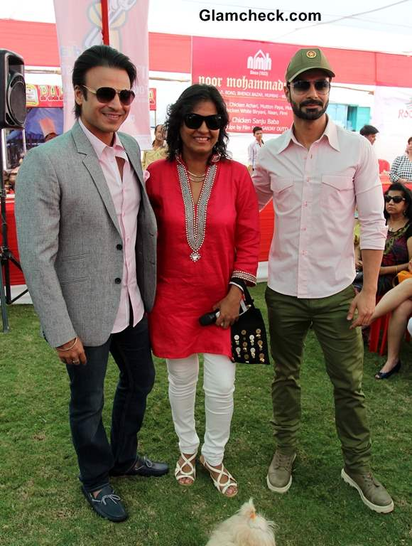 Vivek Oberoi and Ashmit Patel 2013 UpperCrust Food and Wine Show