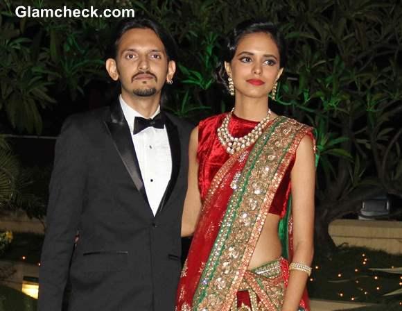 Wedding Reception of Vishesh Bhatt and Kanika Parab