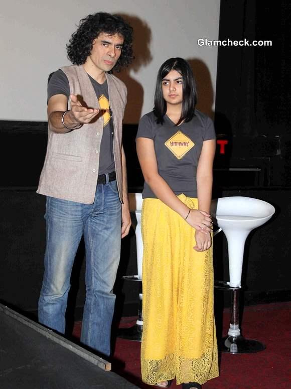 filmmaker Imtiaz Ali along with his daughter Ida Ali