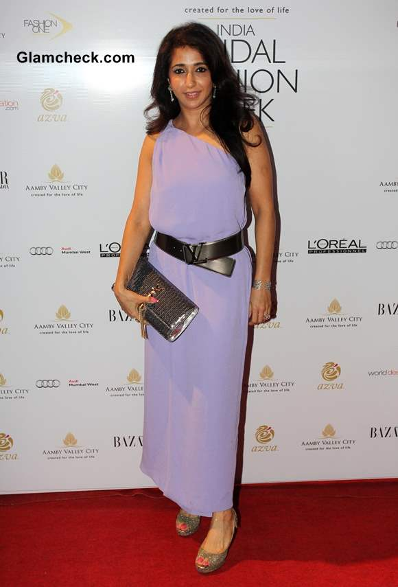 filmmaker Krishika Lulla at India Bridal Fashion Week 2013 Day 6