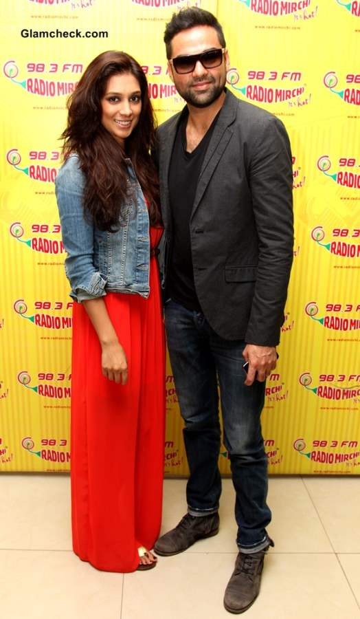 Abhay Deol and Preeti Desai promoted their upcoming movie One by Two