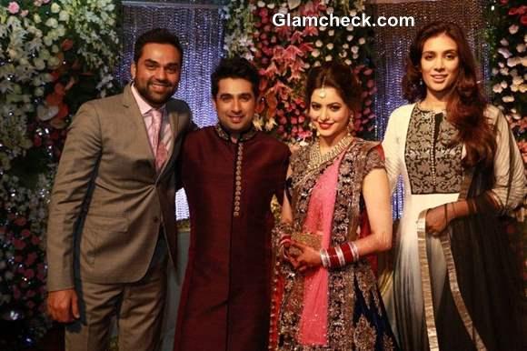 Abhay Deol at Aamna Sharif and Amit Kapoor wedding