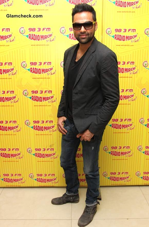 Abhay Deol promotes his upcoming movie One by Two